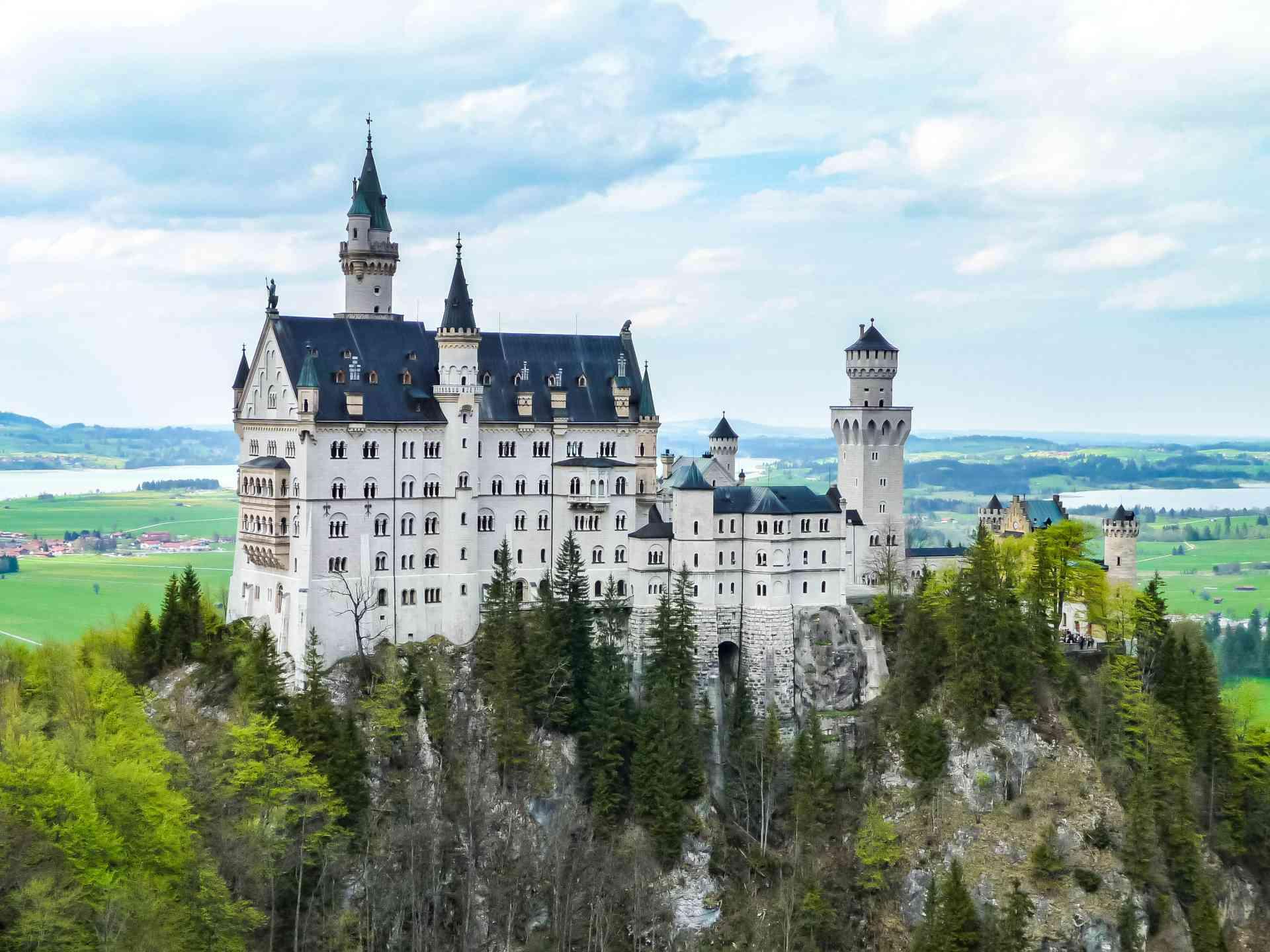 Neuschwanstein Castle, Germany by Dennis Bunnik