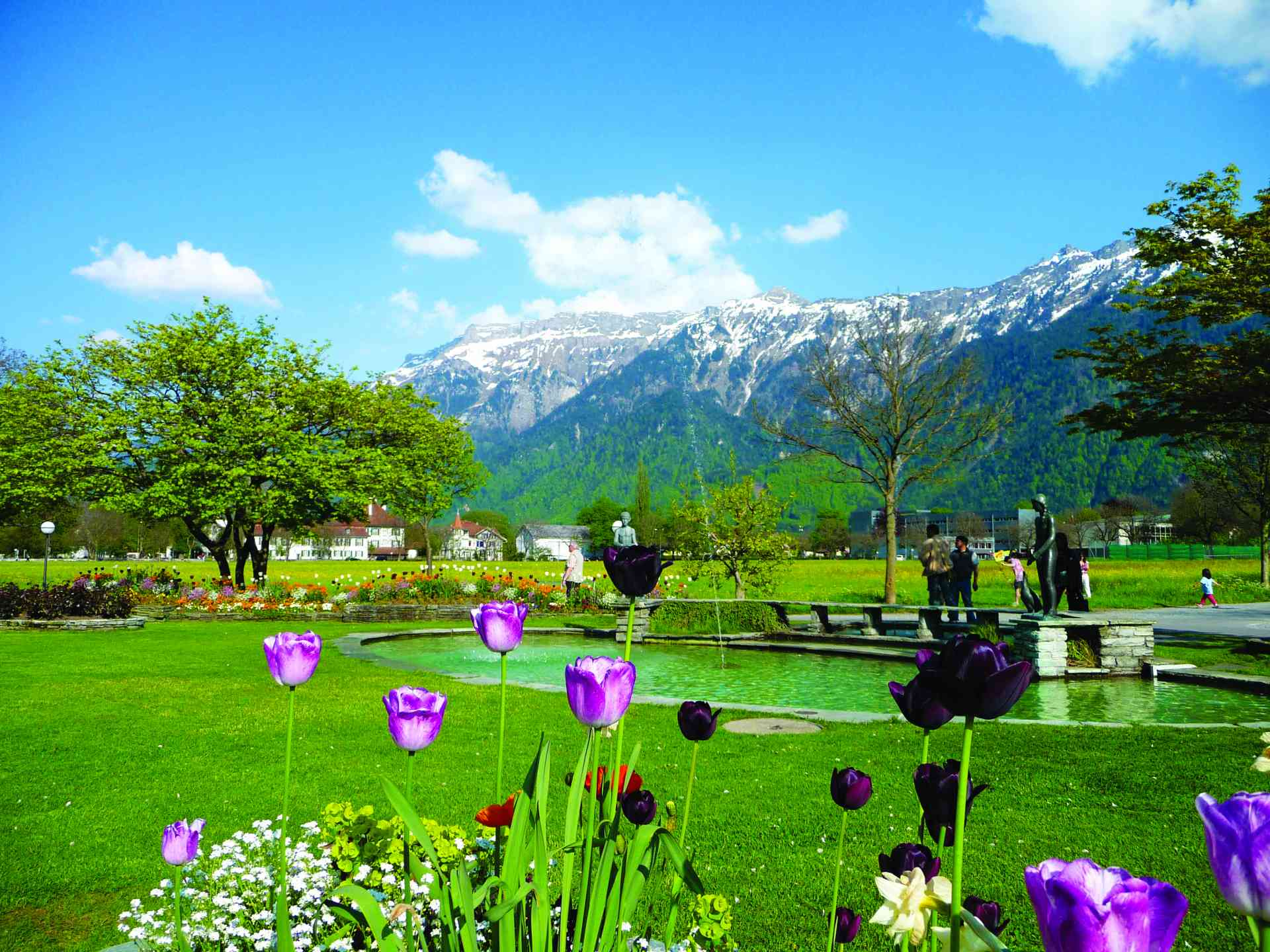 Interlaken, Switzerland by Dennis Bunnik