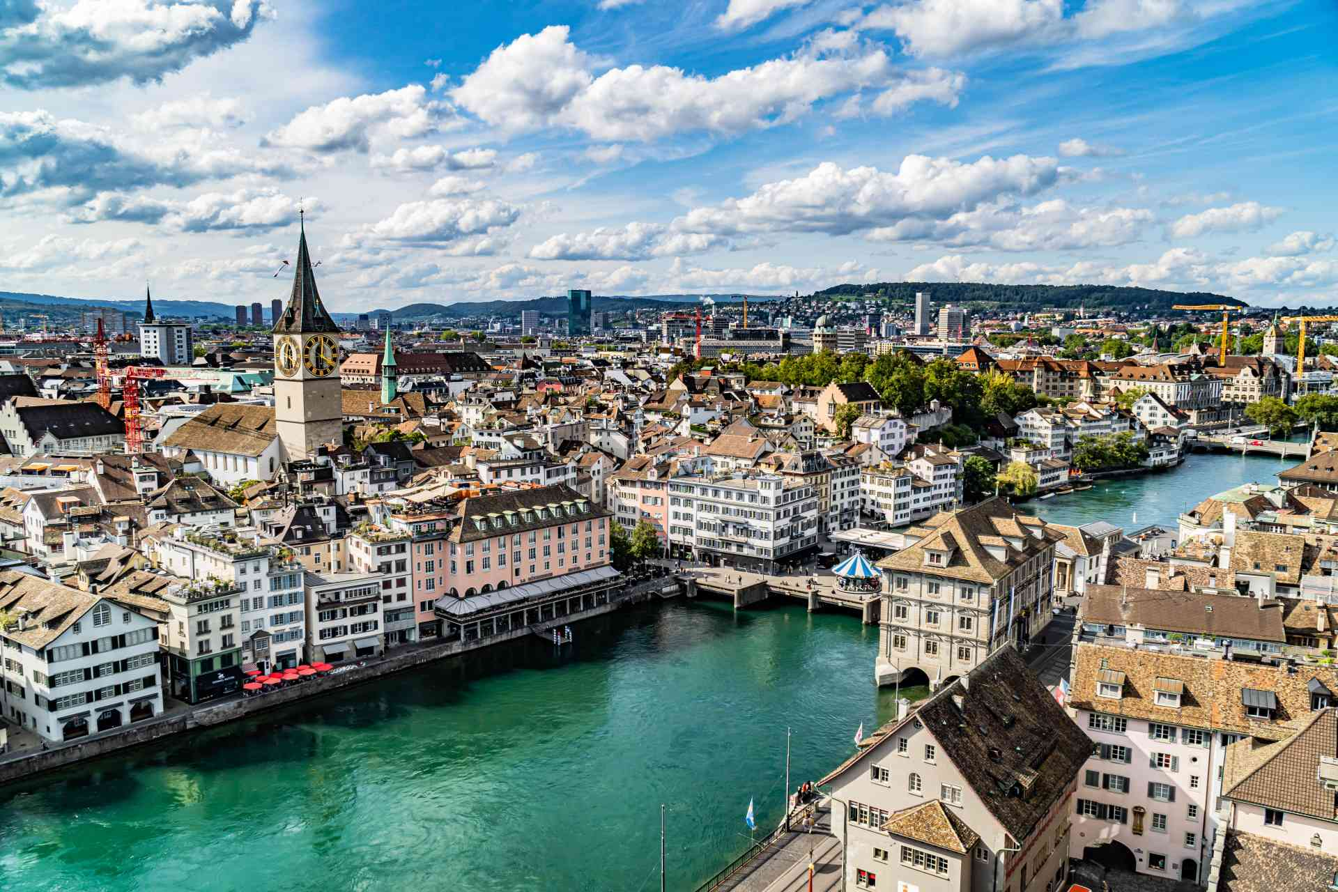 Zurich, Switzerland by Mirza Ariadi