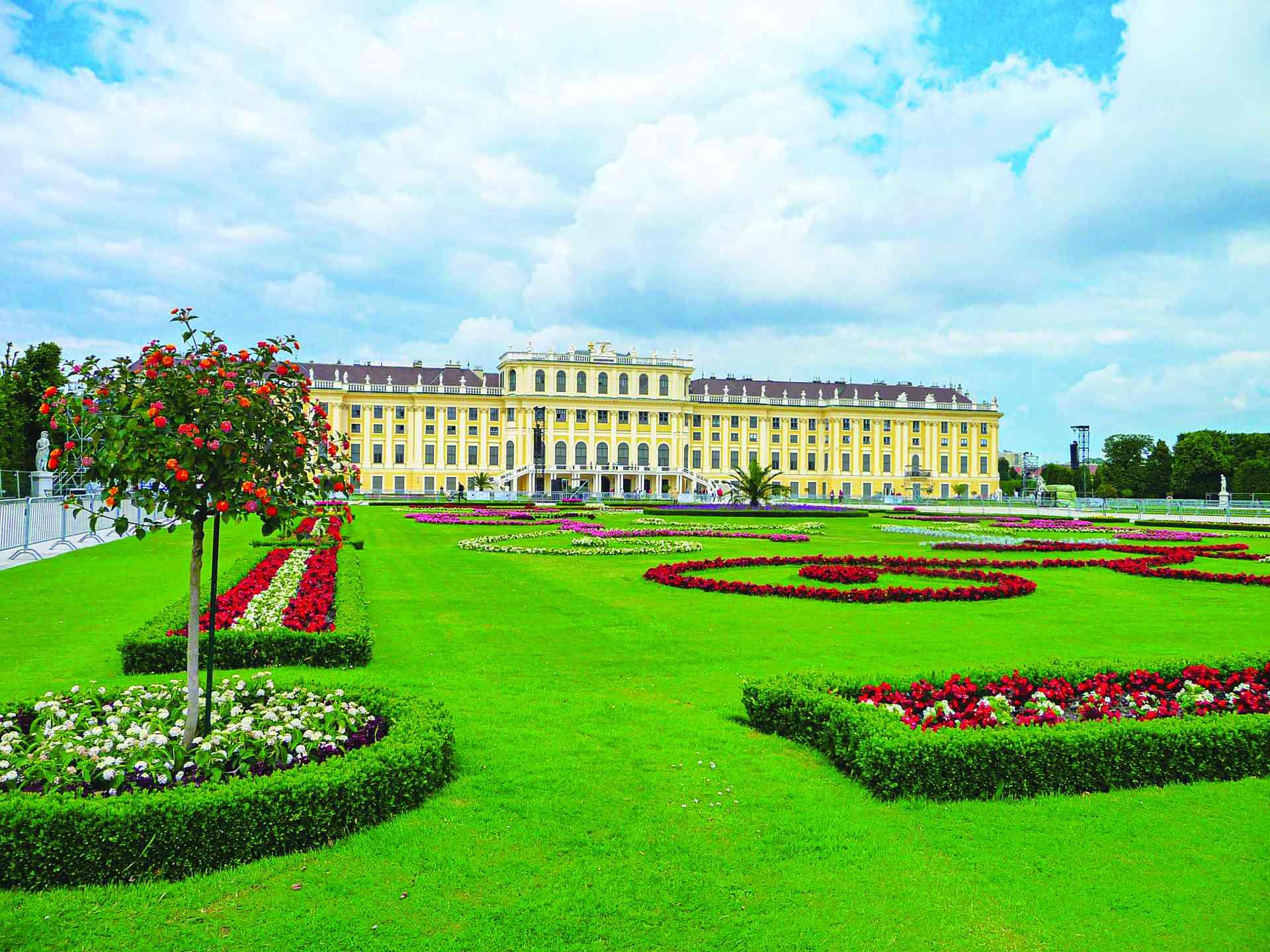 Schonbrunn Palace, Vienna, Austria by Dennis Bunnik