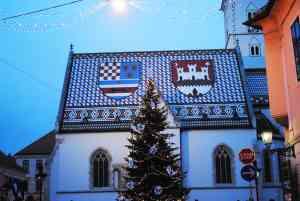 St. Mark's Church, Zagreb, Croatia by Kevin Bishop