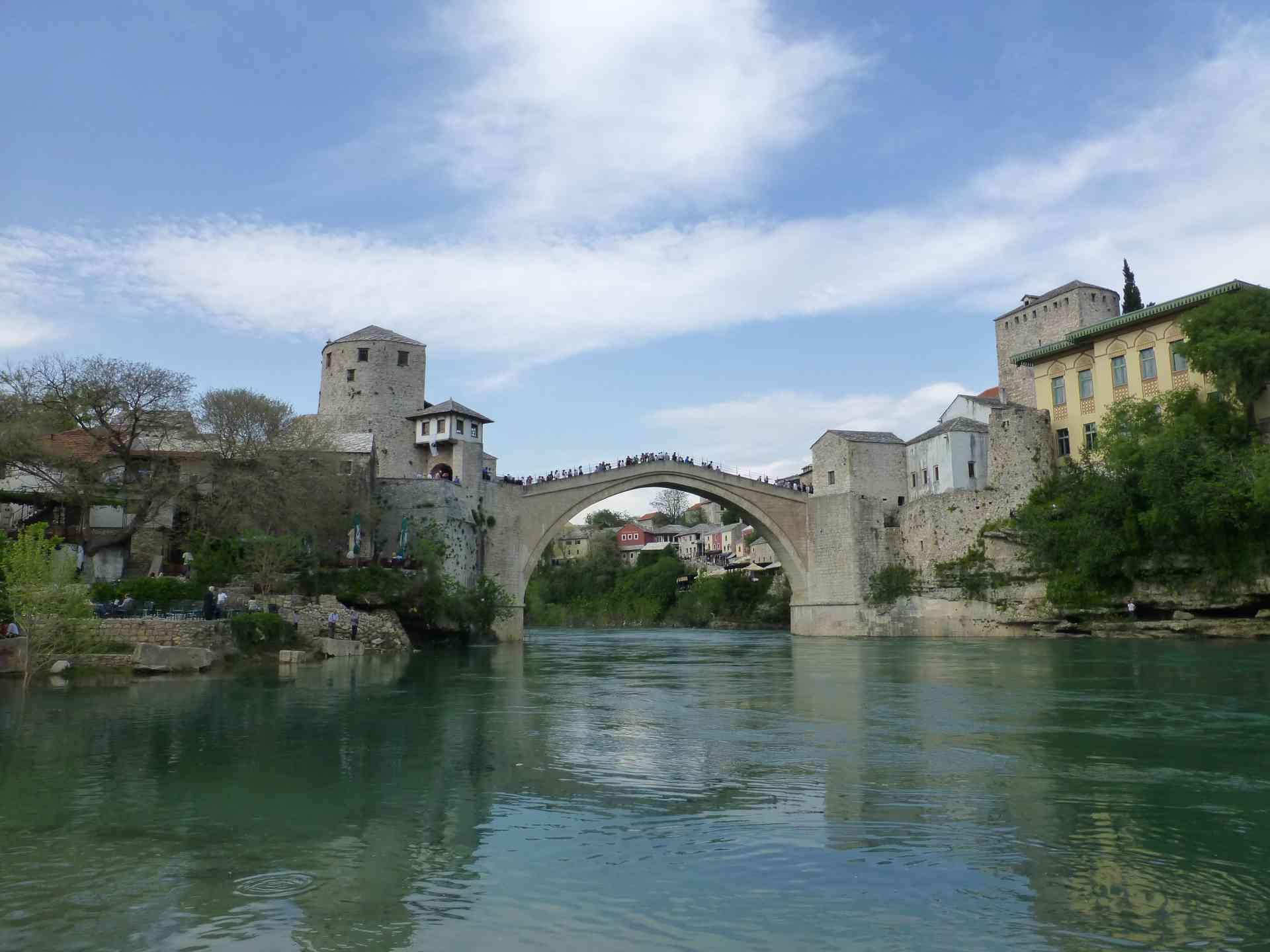 Mostar, Bosnia & Herzegovina by Dennis Bunnik
