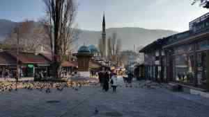 Sarajevo, Bosnia & Herzegovnia by Rachel Footner