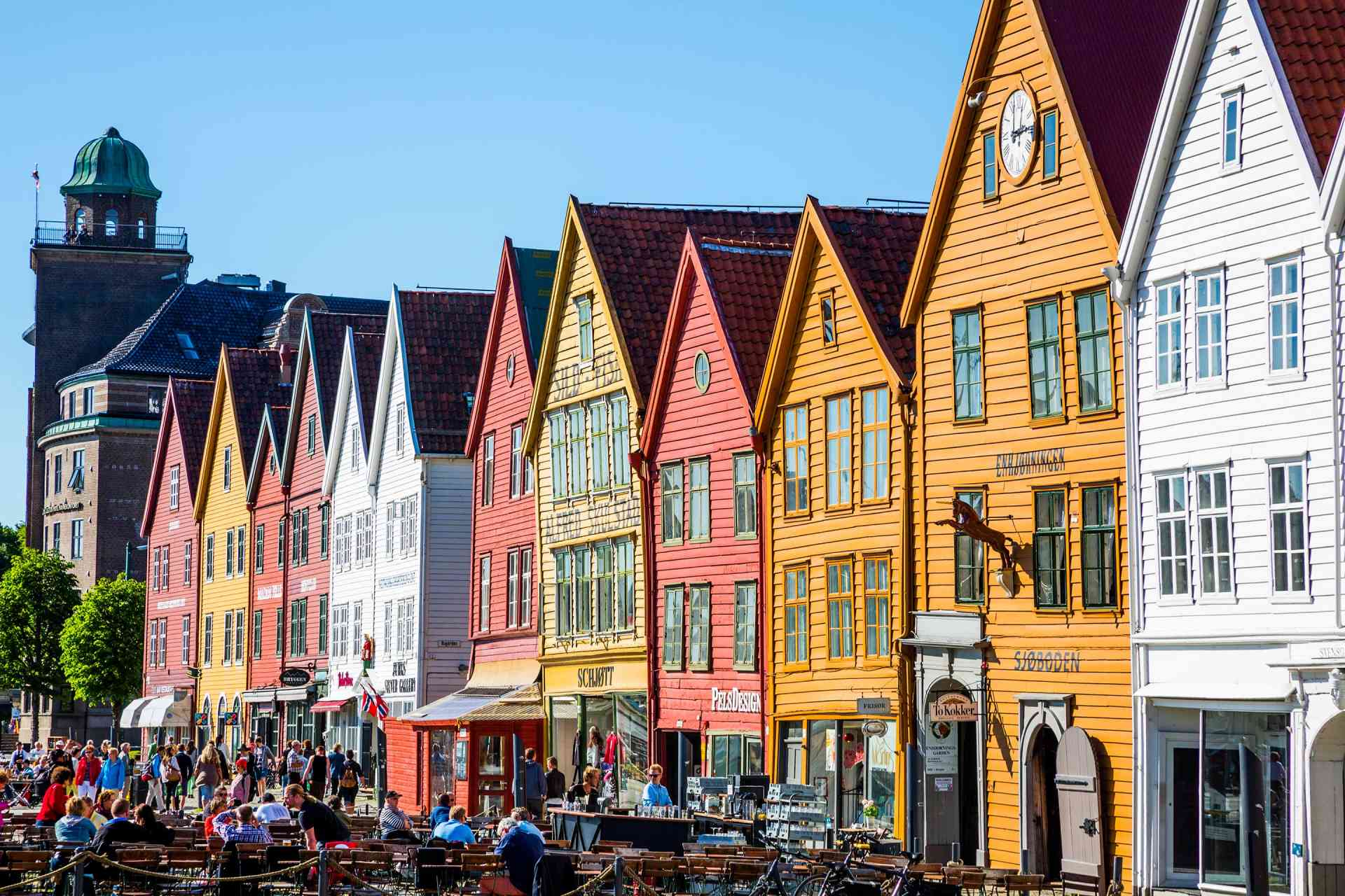 Bergen, Norway by Graham Meale