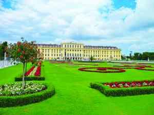 Schönbrunn Palace, Vienna, Austria by Dennis Bunnik