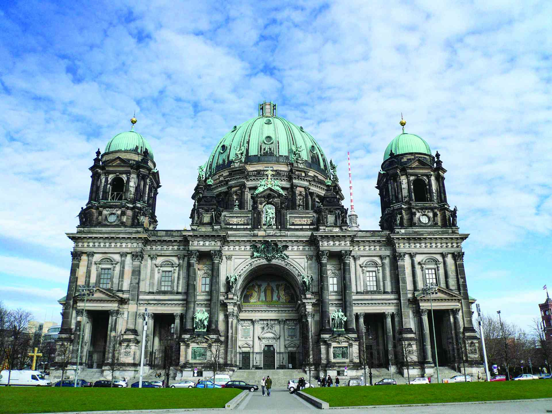 Berlin Cathedral, Germany by Marion Bunnik