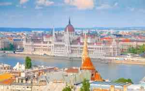 Budapest Parliament, Budapest, Hungary by Karim Manjra