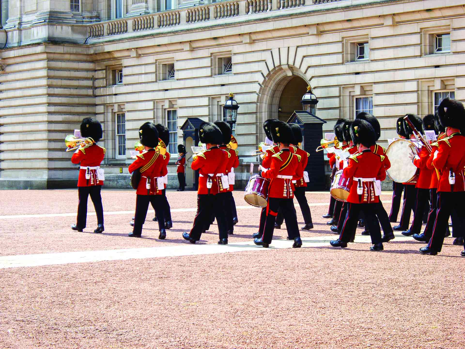 Queen's Guards, England by Victoria Hearn