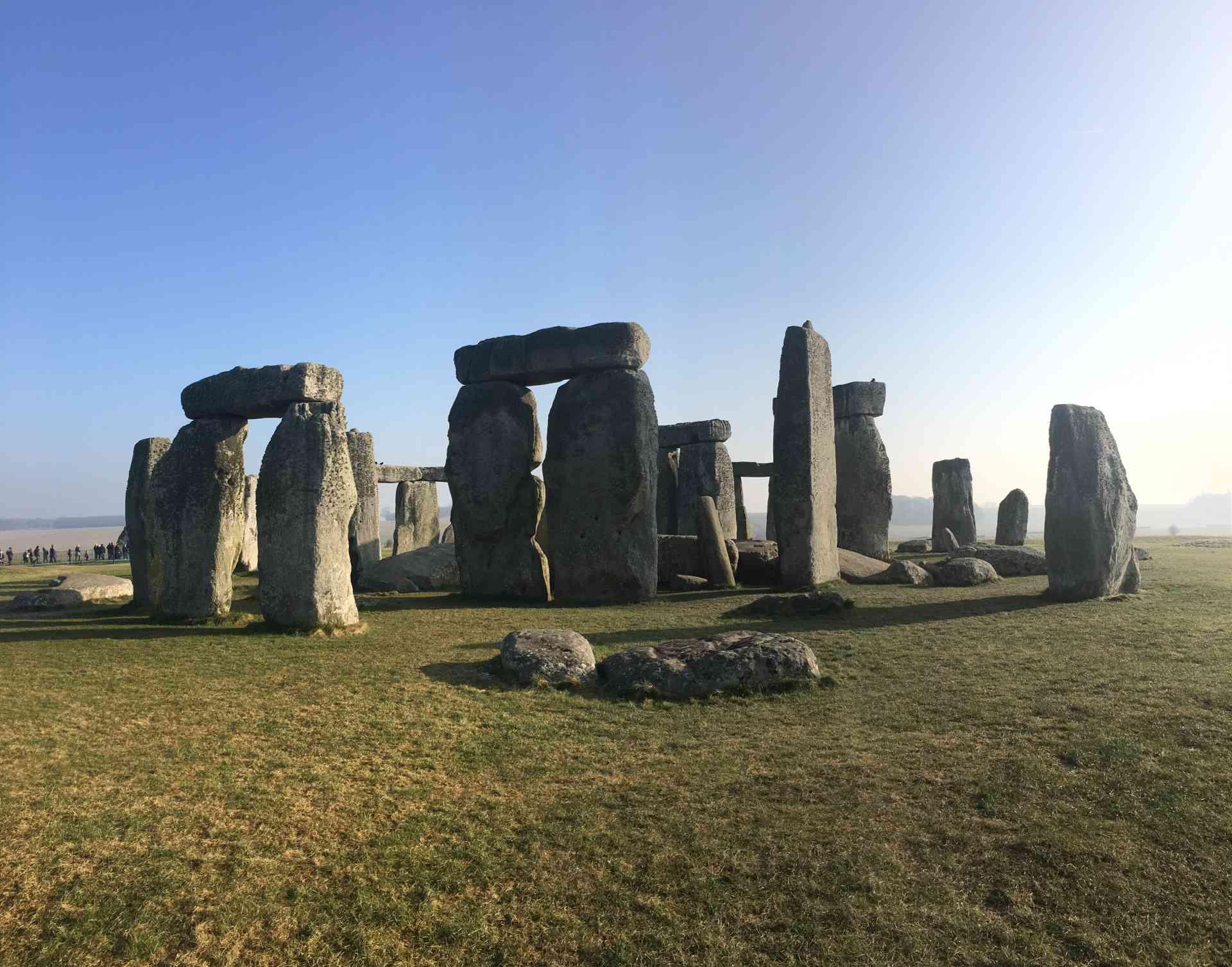 Stonehenge, England by Rachel Footner