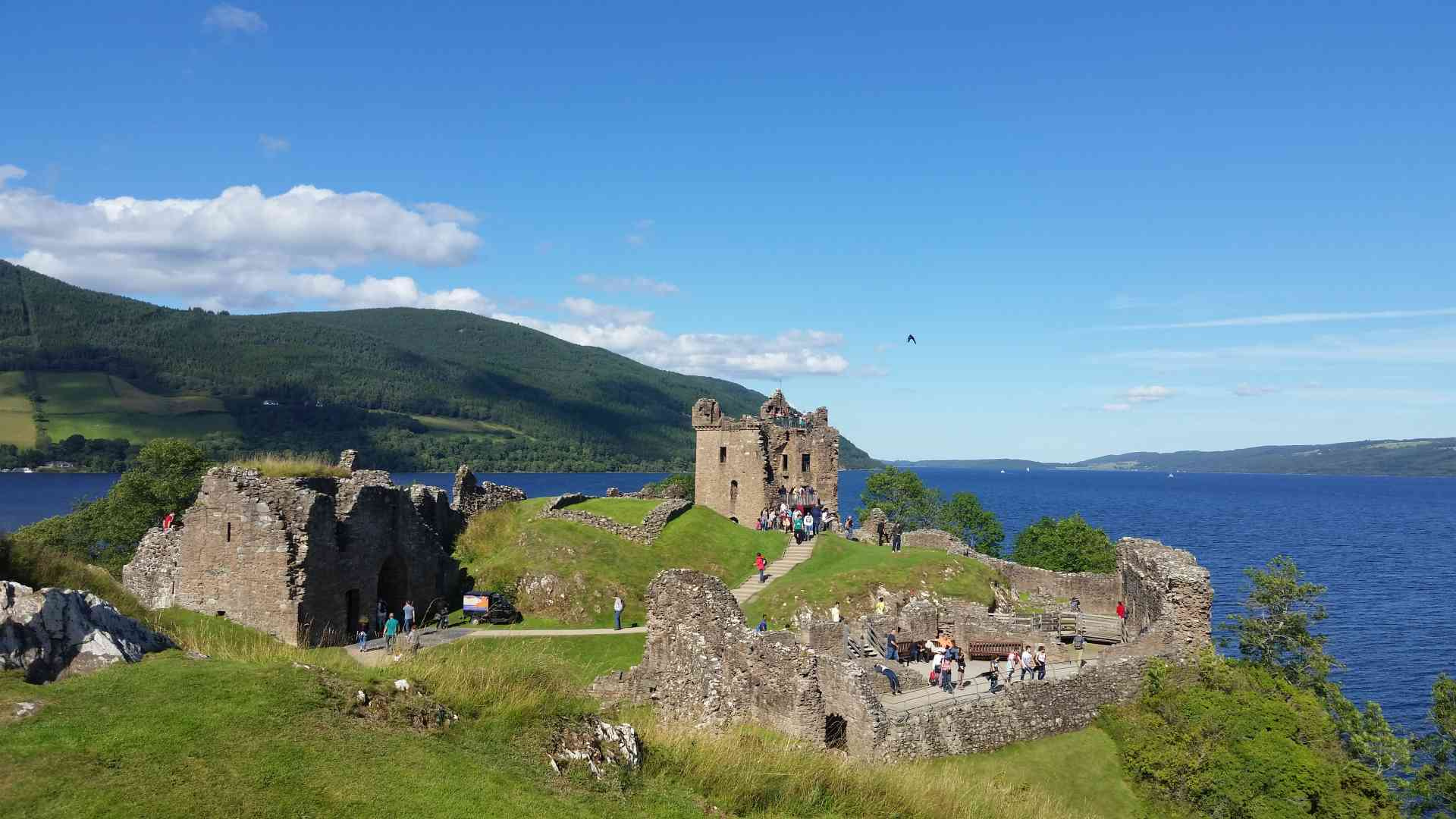 Loch Ness, Scotland by Rachel Footner