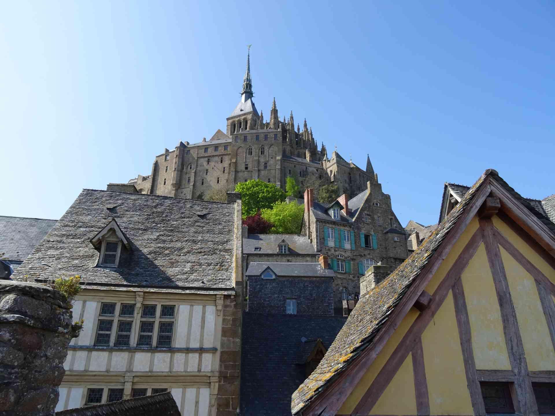 Mont St Michel, France by Dennis Bunnik