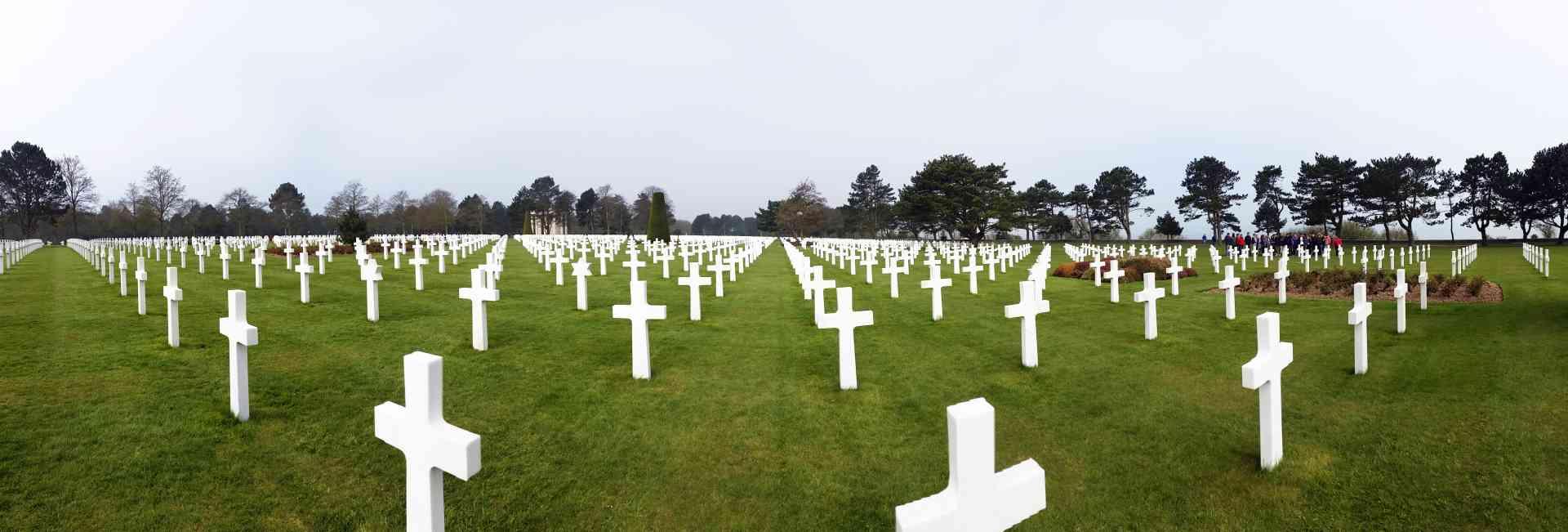 Normandy, France by Dennis Bunnik