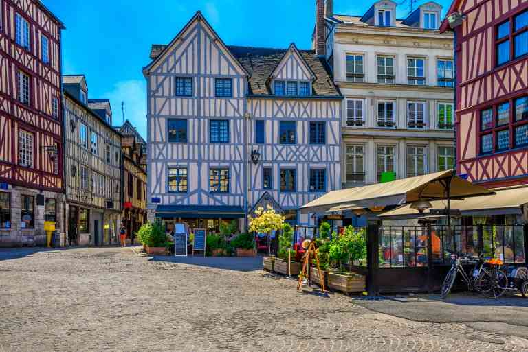 Rouen, France by AdobeStock