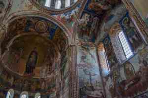 Gelati Frescoes, Georgia by Nene Samnashvili