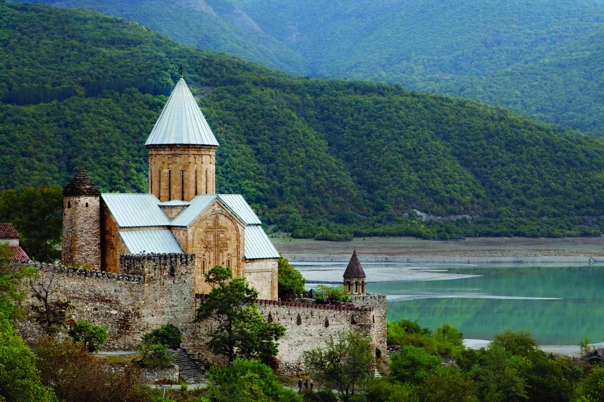Ananuri, Georgia by Georgian National Tourism Administration