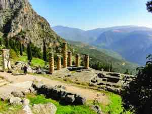 Delphi, Greece by Jeremy Van Heerde