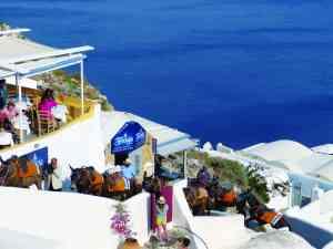 Santorini, Greece by Sacha Bunnik