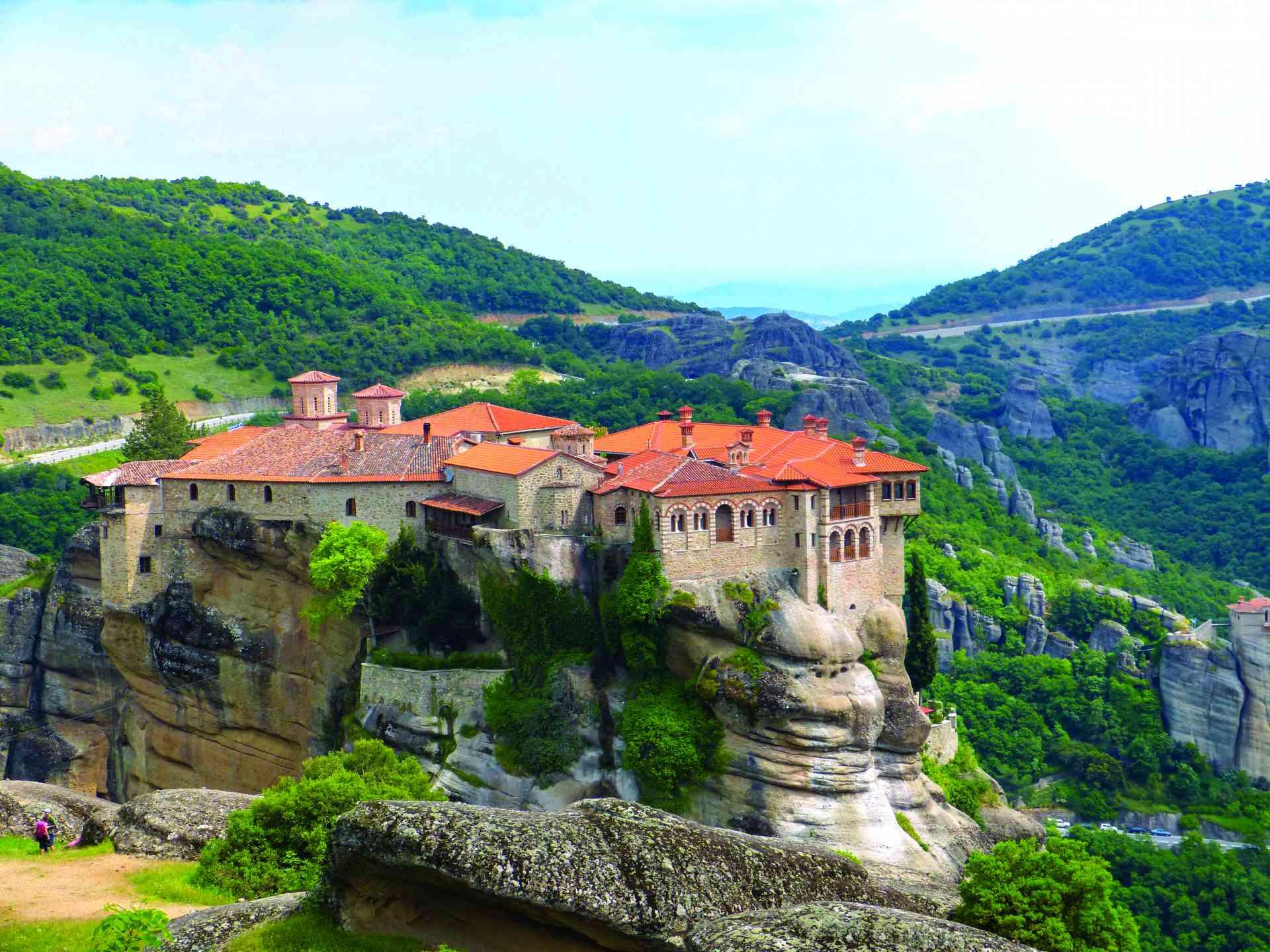 Monasteries of Meteora, Greece by Sacha Bunnik