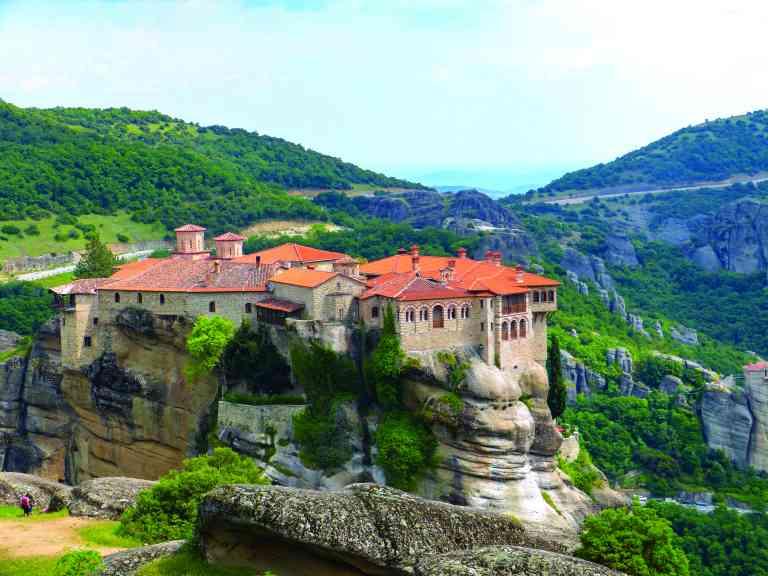 Meteora Monasteries, Greece by Sacha Bunnik