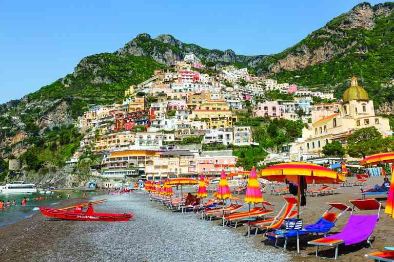 Postiano, Amalfi Coast, Italy by Graham Meale