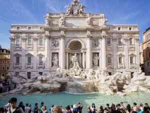 Trevi Fountain, Rome, Italy by David Hein