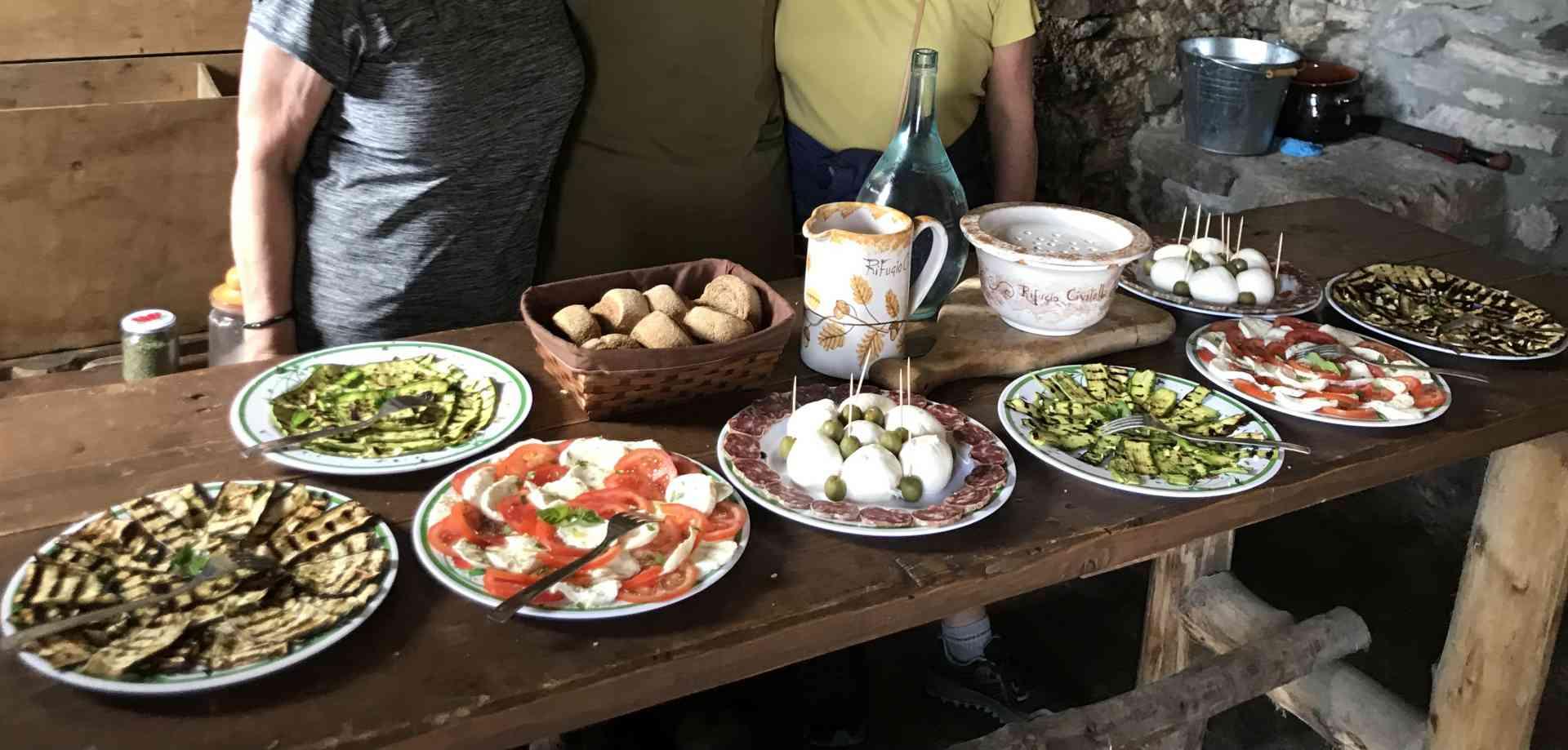 Local produce tasting, Amalfi Coast, Italy by Daniel Vuotto