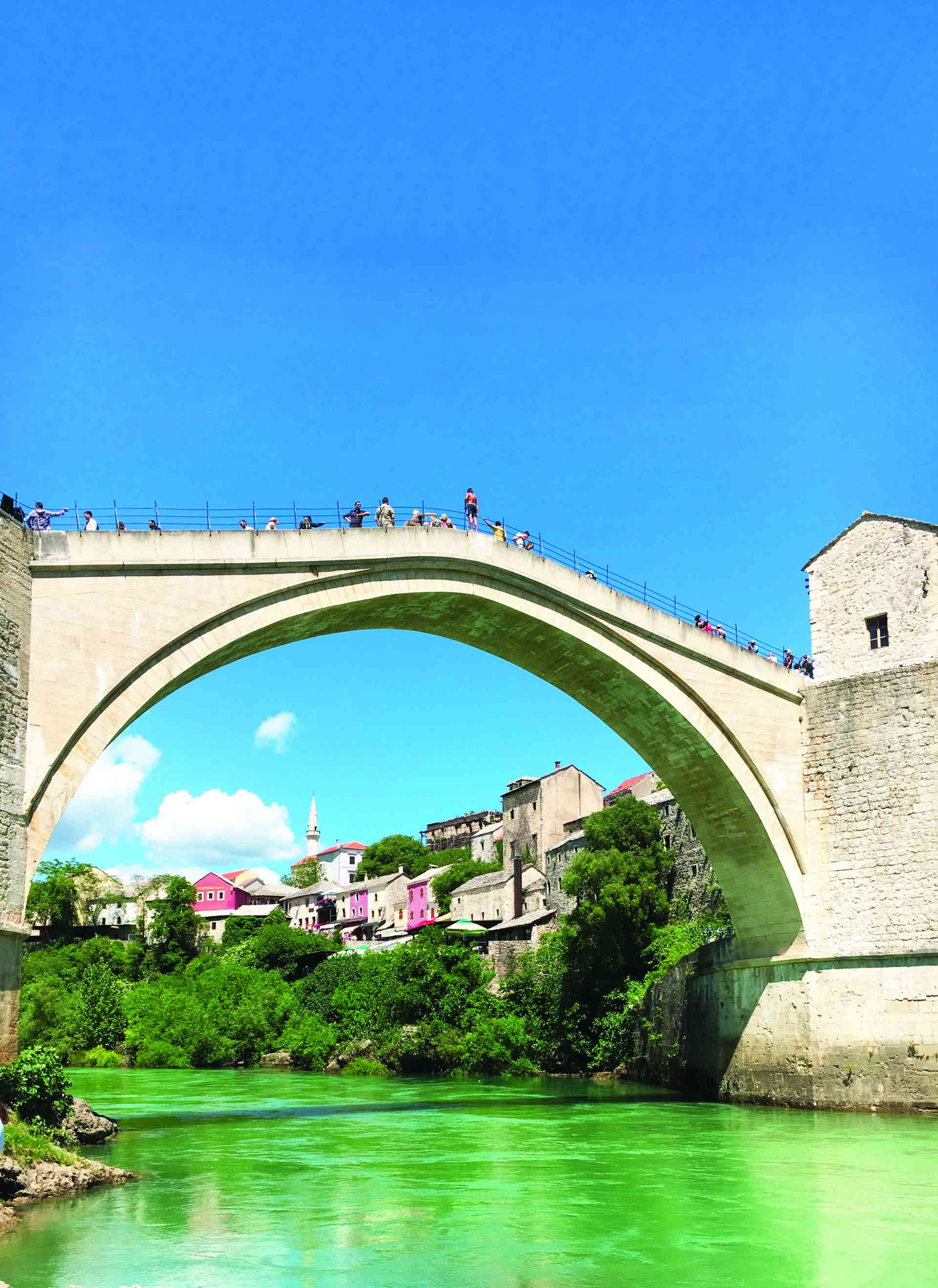 Mostar Bridge, Bosnia and Herzegovina by Paul Cook