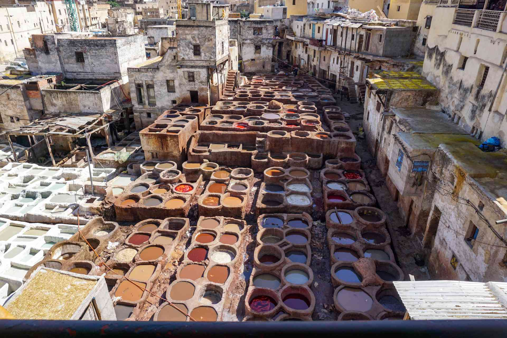 Fez Tannery, Morocco by Silvia Schweininger