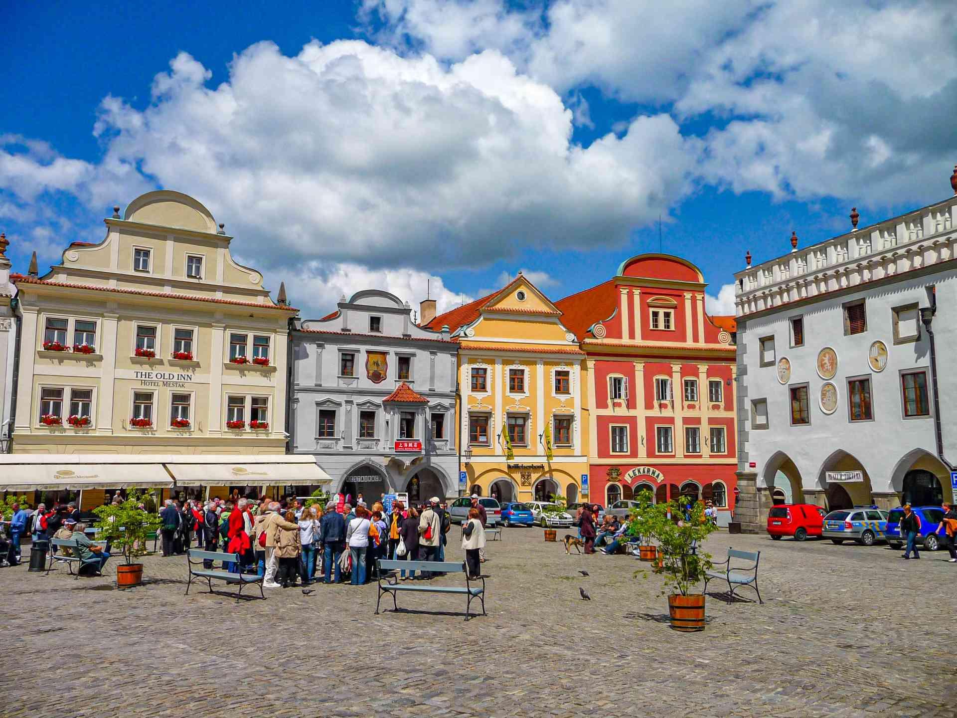 Český Krumlov, Czech Republic by Dennis Bunnik