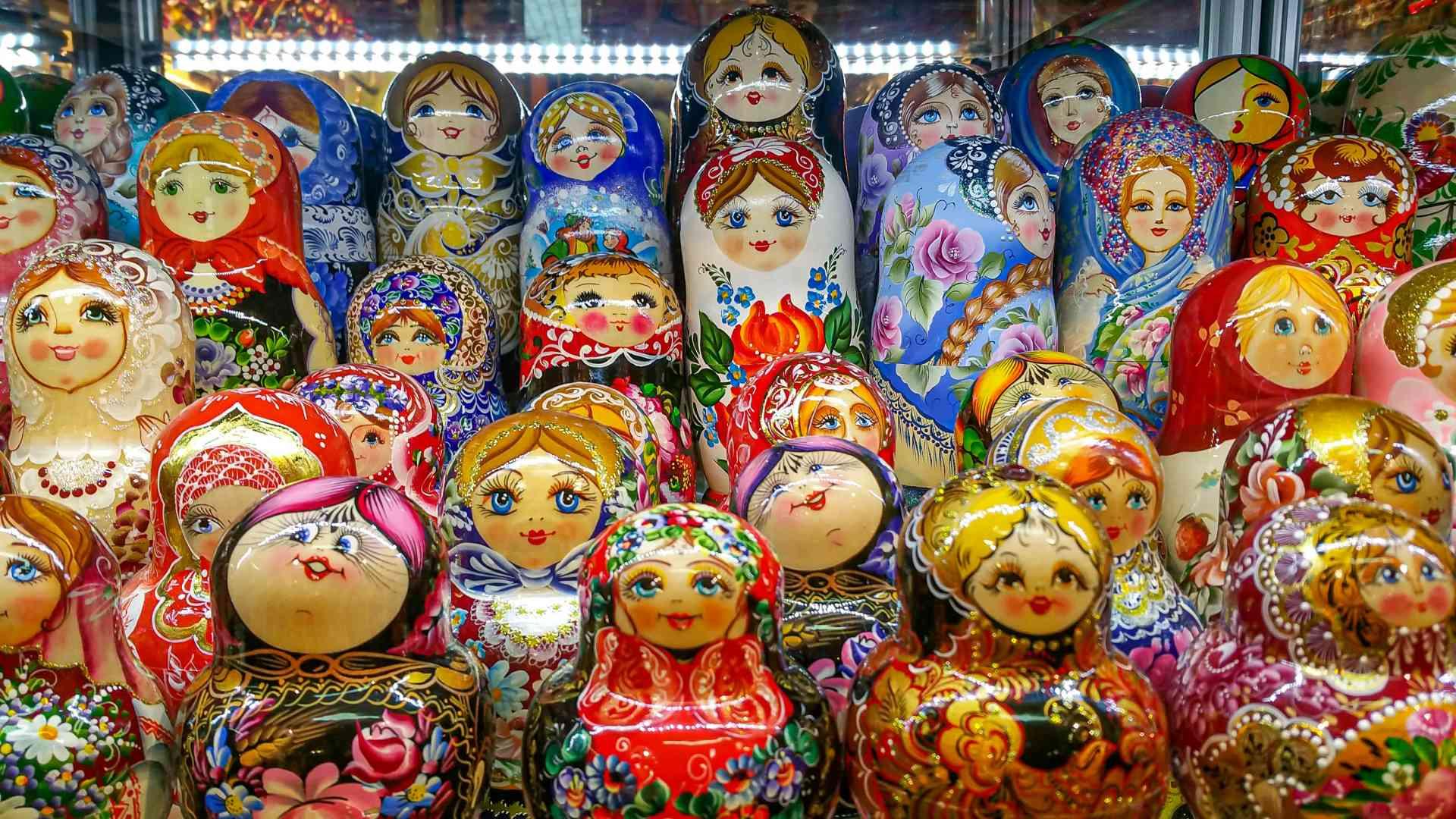 Matryoshka Dolls, Russia by Chloe Marshman