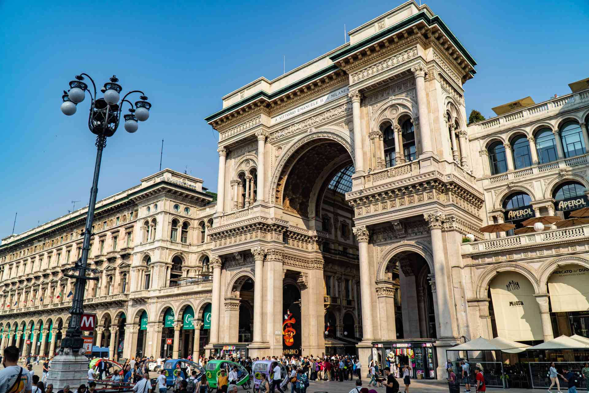 Galleria Vittorio Emanuele II, Italy by Mirza Ariadi