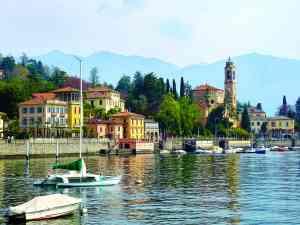 Lake Como, Italy by Dennis Bunnik