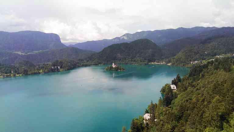 Lake Bled, Slovenia by Chloe Marshman
