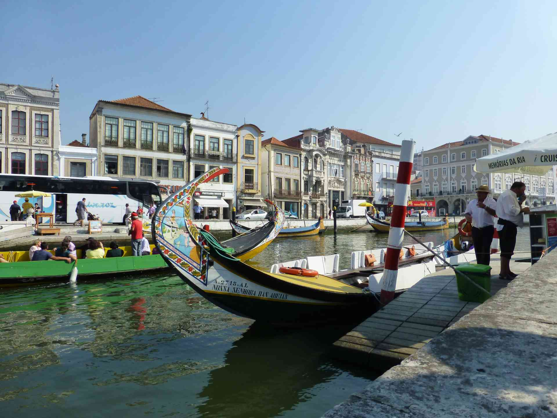 Averio, Portugal by Dennis Bunnik