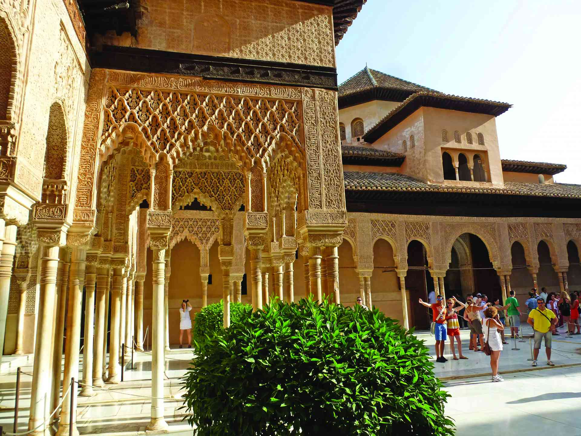 Alhambra Palace in Granada, Spain by Marion Bunnik