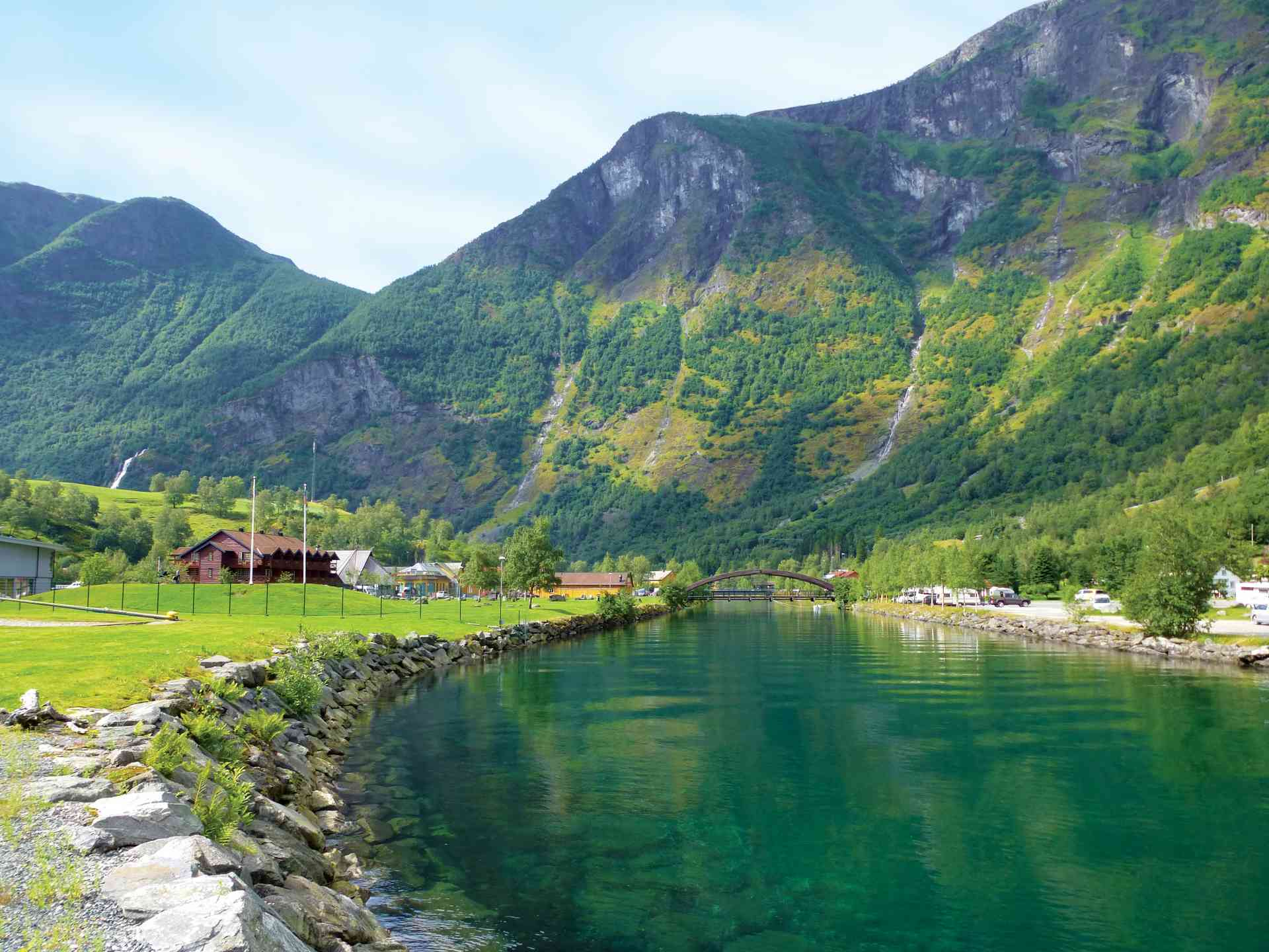 Flam, Norway by Marion Bunnik