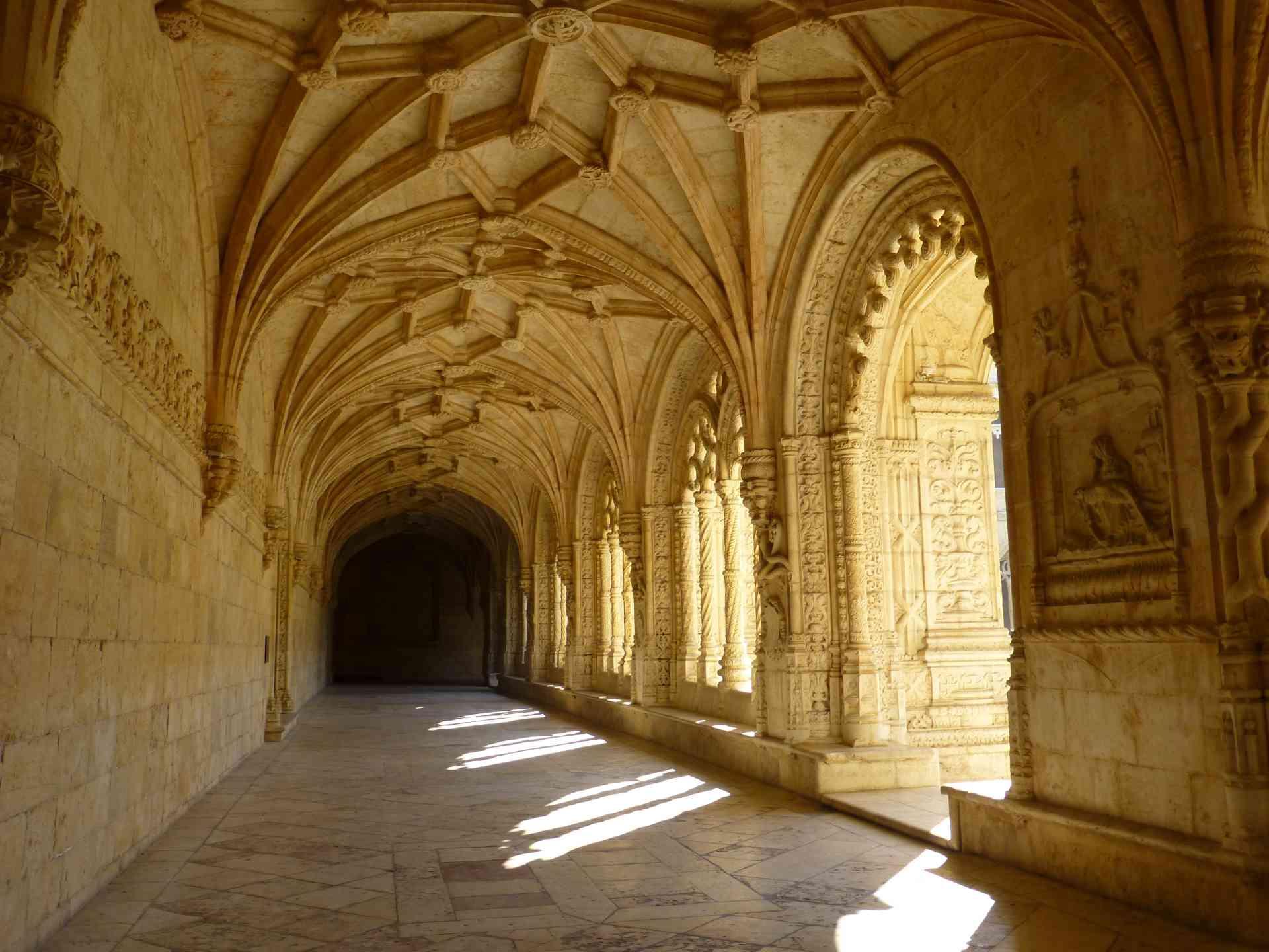 Jerónimos Monastery, Lisbon, Portugal by Dennis Bunnik
