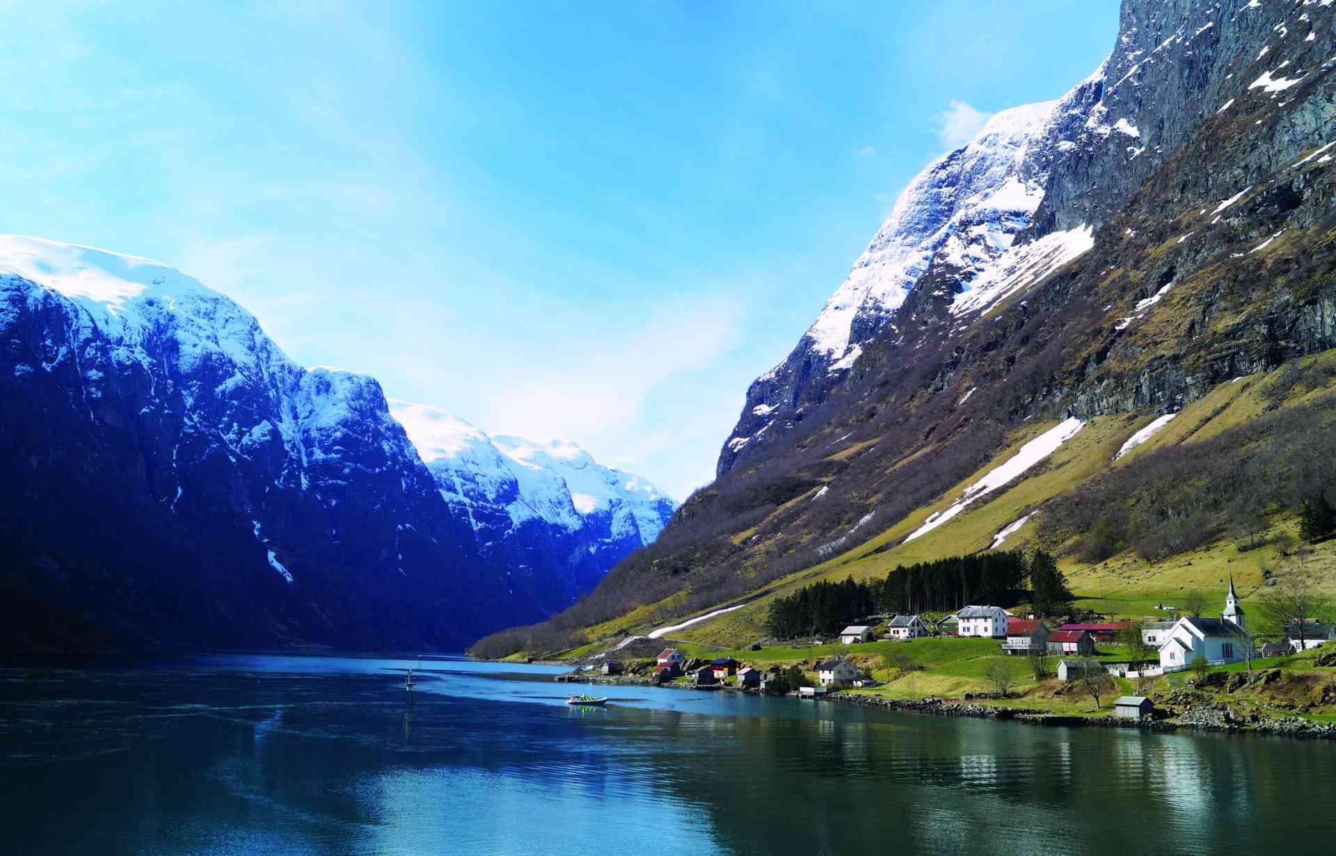 Nærøyfjorden, Norway by Gjertrud Coutinho