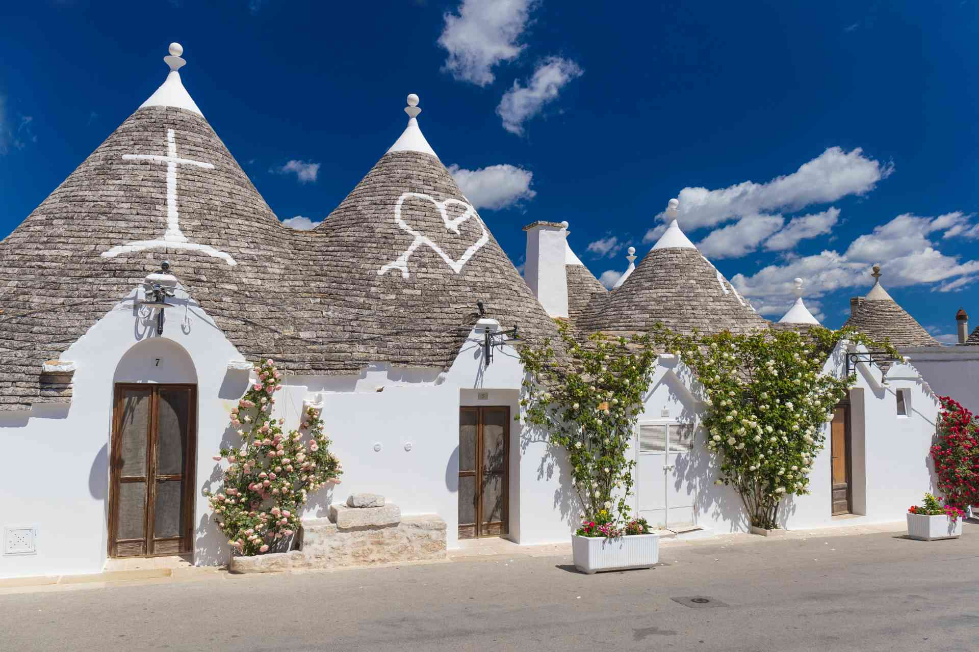 Trulli in Alberobello, Italy from Adobe Stock