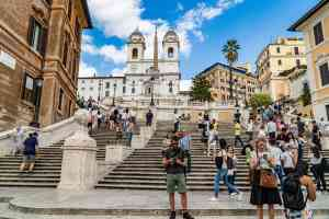 Spanish Steps, Rome, Italy by Mirza Ariadi