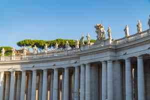 Bernini's colonnade, Vatican City by Mirza Ariadi