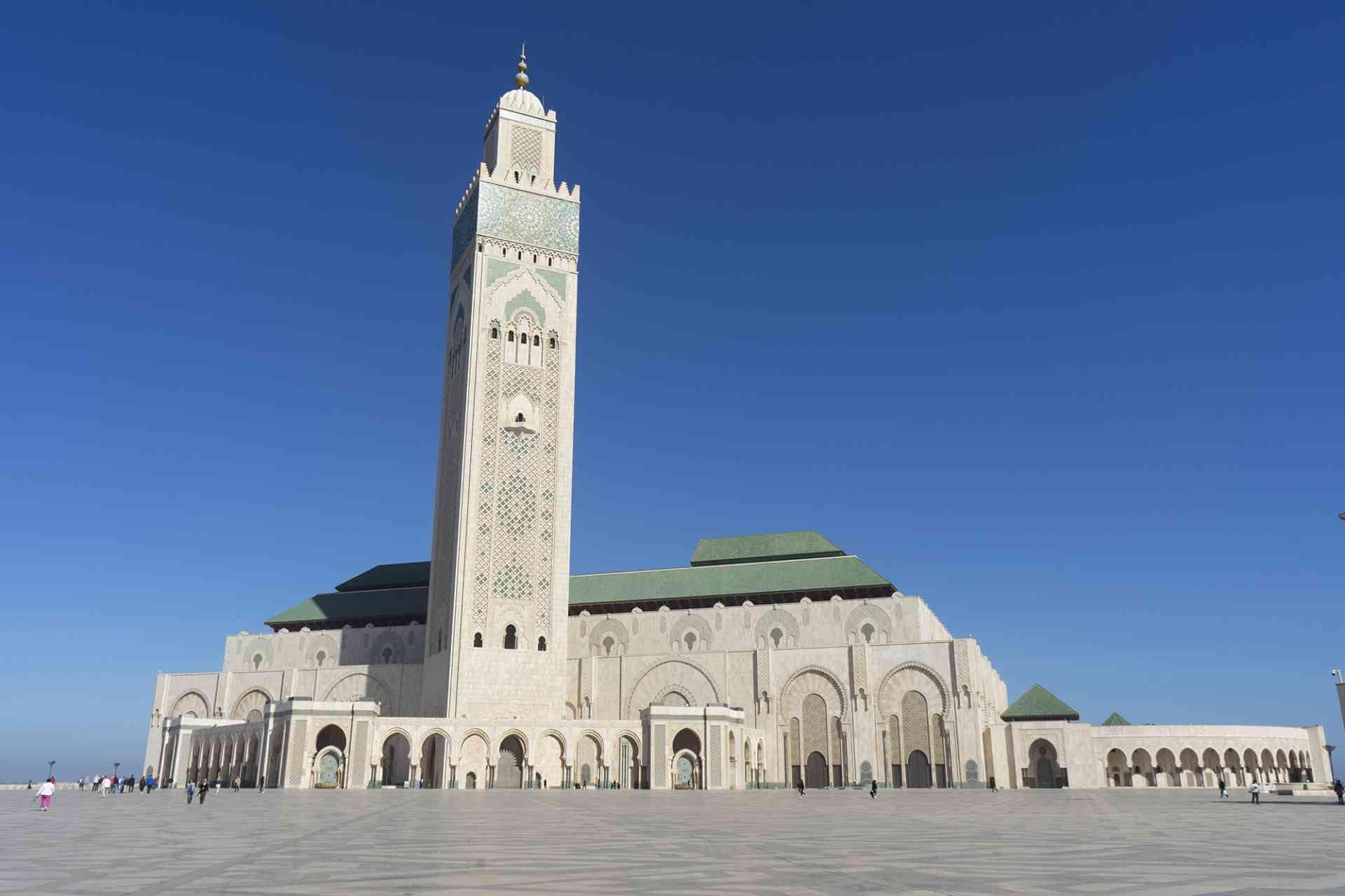 Hassan II Mosque, Casablanca, Morocco by Priscilla Aster