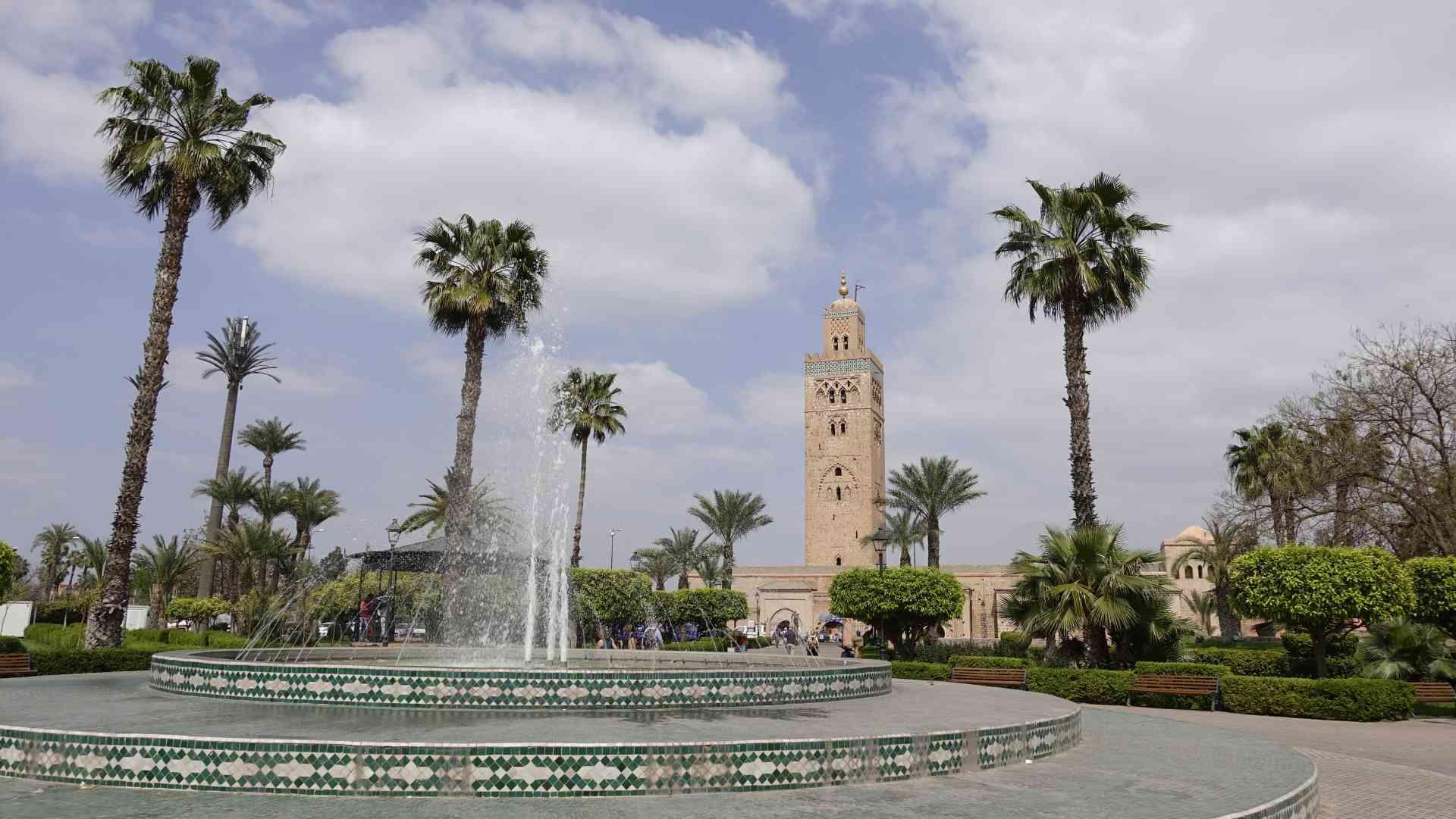Parc Lalla Hasna, Marrakesh, Morocco by Dennis Bunnik
