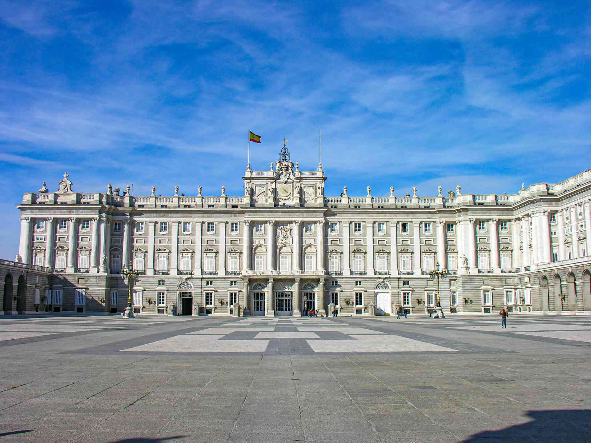 Royal Palace, Madrid, Spain by Marion Bunnik