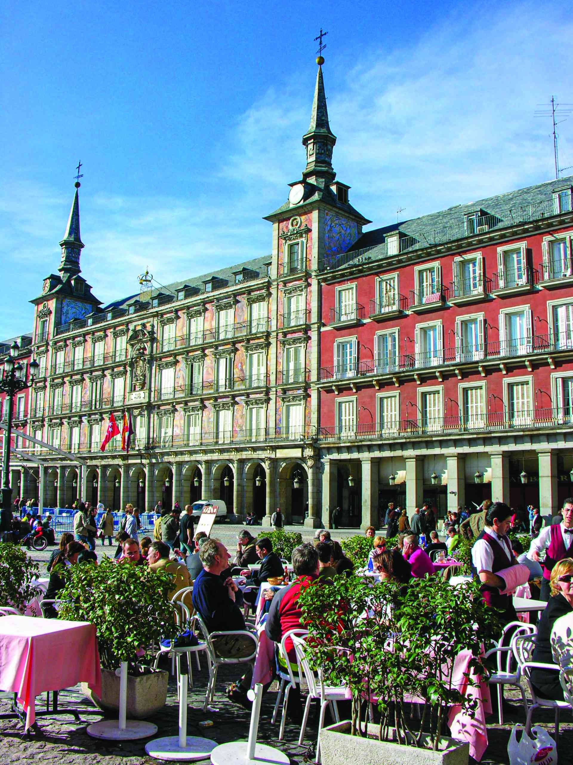 Plaza Mayor, Madrid, Spain by Dennis Bunnik