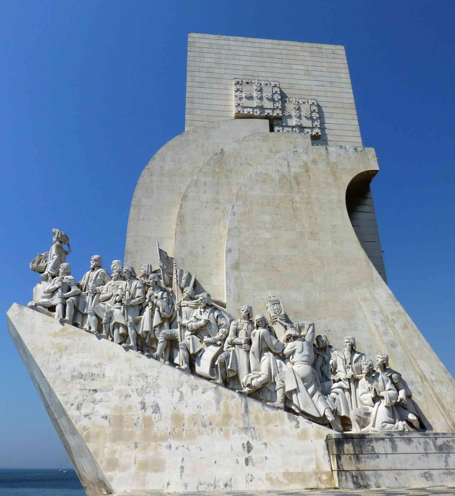 Monument to the Discoveries in Lisbon, Portugal by Dennis Bunnik