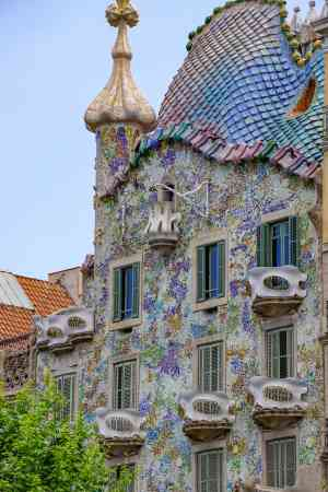 Casa Batllo, Barcelona, Spain by Silvia Schweininger