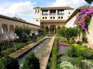 Generalife Gardens, Granada, Spain by Frank Bunnik