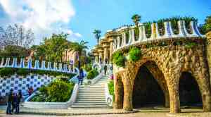 Park Guell, Barcelona, Spain by Max Pixel