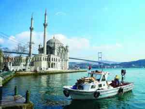 Bosphorus, Istanbul, Turkey by Dennis Bunnik